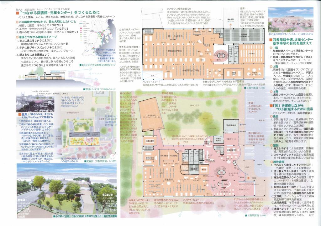 気仙沼図書館プロポーザル設計